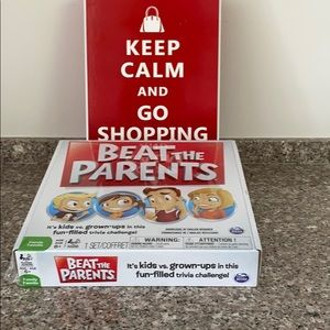 Beat the Parents trivia game NEW sealed